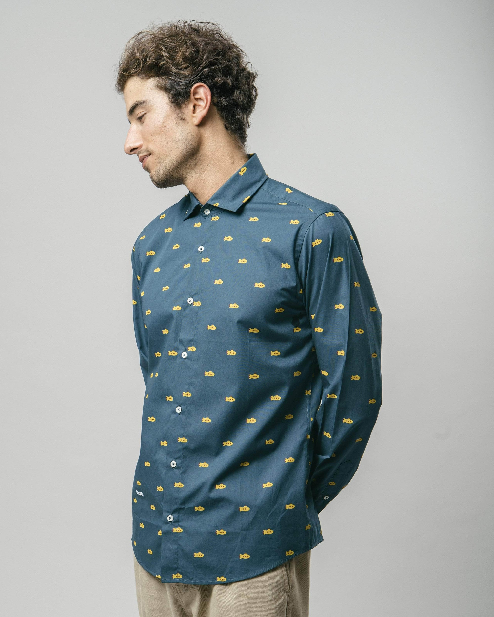 Camisa Estampada Yellow Submarine