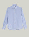 Brava Fabrics - Essential Shirt - Long Sleeve Shirt for Men - 100% Organic Cotton - Model Sakuraya Tea