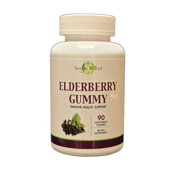 Elderberry Gummy 90ct - Benji's Brand