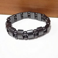 Double Hematite Tiger's Eye Bracelets Men Tiger Eye & Hematite Charm Bracelets for Women Natural Energy Stone Bracelet Jewellery