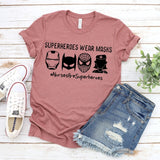 2020 Nurse Hero Shirt Funny Nurse Shirts  Stay Home Quarantine T-shirt Gift for Nurse Front Line Hero Tees