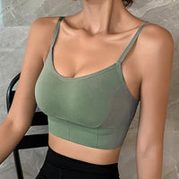 Women Tank Crop Top Sexy Female Underwear Seamless Crop Tops  Lingerie Fem-me Strap Adjustable Camisole Street Fashion Woman Top