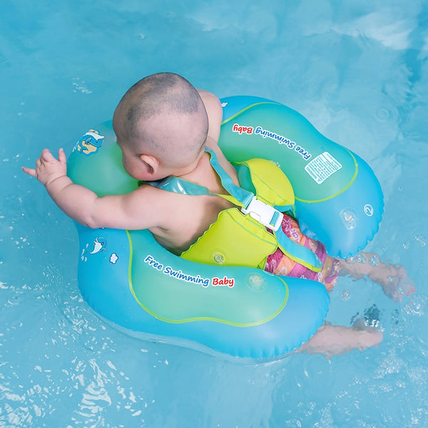 Baby Swimming Ring Inflatable Infant Floating Kids Float Swim Pool Accessories Circle Bath Inflatable Ring Toy For