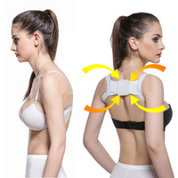 NEW 2020 Posture Corrector Device Comfortable Back Support Braces Shoulders Chest Belt