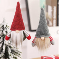 Christmas Faceless Old Man Doll Christmas Tree Decoration Hanging Ornaments Gift Christmas Ornament Doll For Home New Year 2021