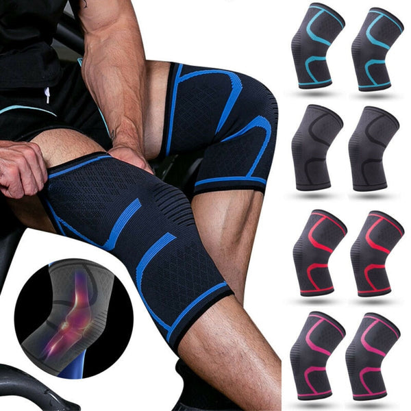 1 Piece Sports Knee Pads Nylon Knee Protector Brace Dance Knee Sleeve Pads Basketball Running Knee Pad Sports Kneecap