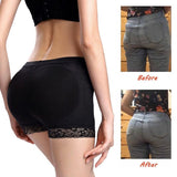 Boy-short Panties Woman Fake Ass Underwear Push Up Padded Panties Buttock Shaper