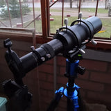 60mm Compact Deluxe Guide Scope 1.25inch Double Helical Focuses for Astronomy Telescope