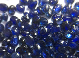 Natural Heated Blue Sapphires oval 3*4 mm ,5 pieces in one lot approx. one ct Loose Gemstone Jewellery