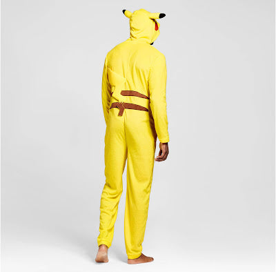 Adult Pokemon Onesie <br>Pikachu (mens)