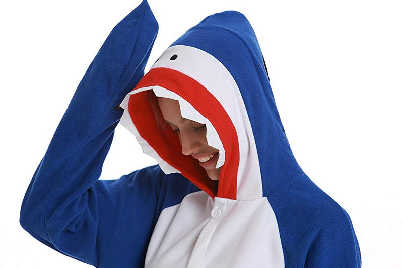 Adult Animal Onesie <br>Fierce Shark