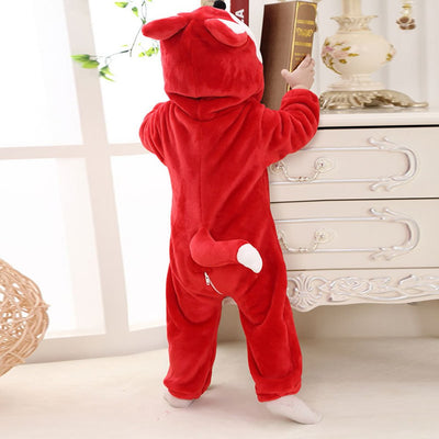 Baby Animal Onesie <br>Red Fox (Toddler)