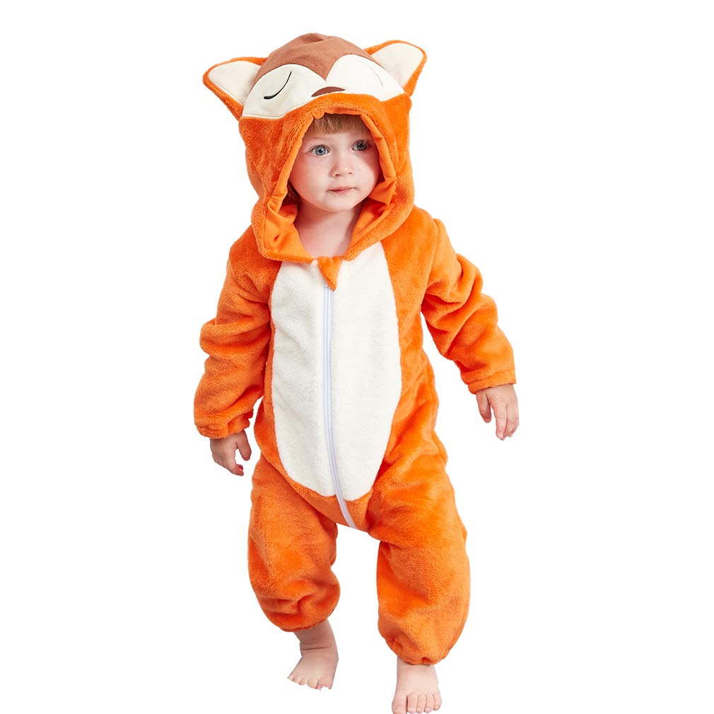 Baby Animal Onesie <br>Japanese Fox