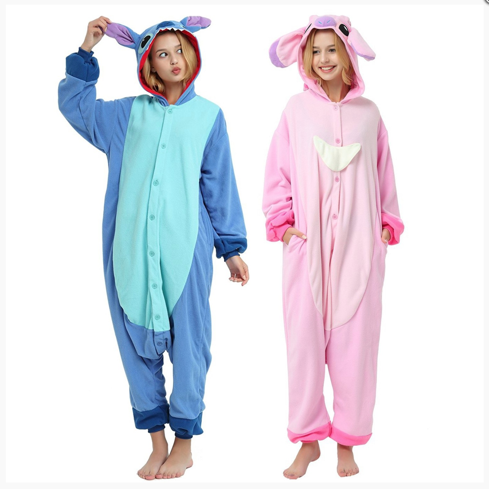 Adult Disney Onesie <br>Stitch and Angel