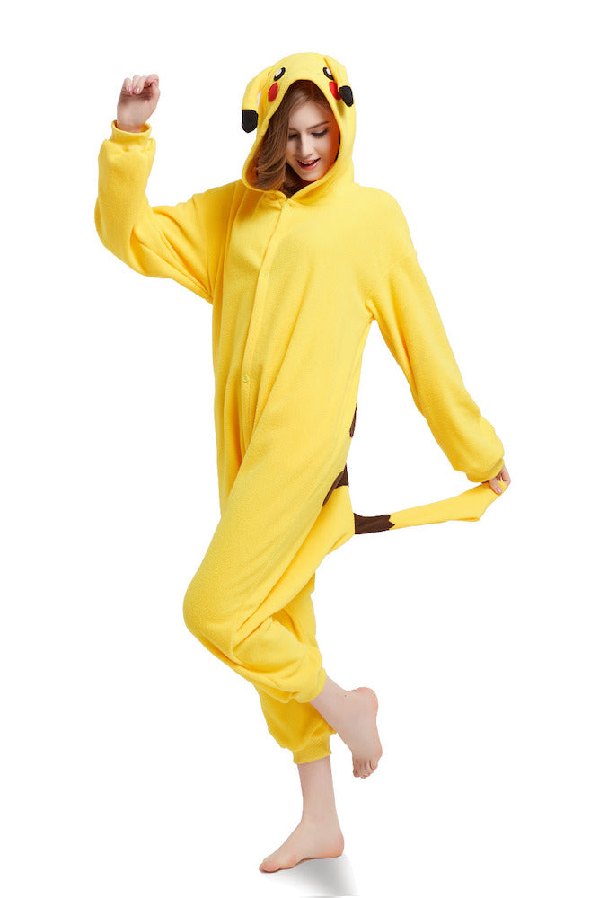 Adult Pokemon Onesie <br>Pikachu Pajamas