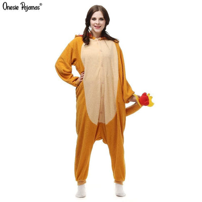 Charmander onesie for adults