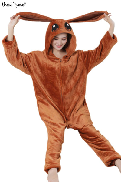 Eevee onesie for adults