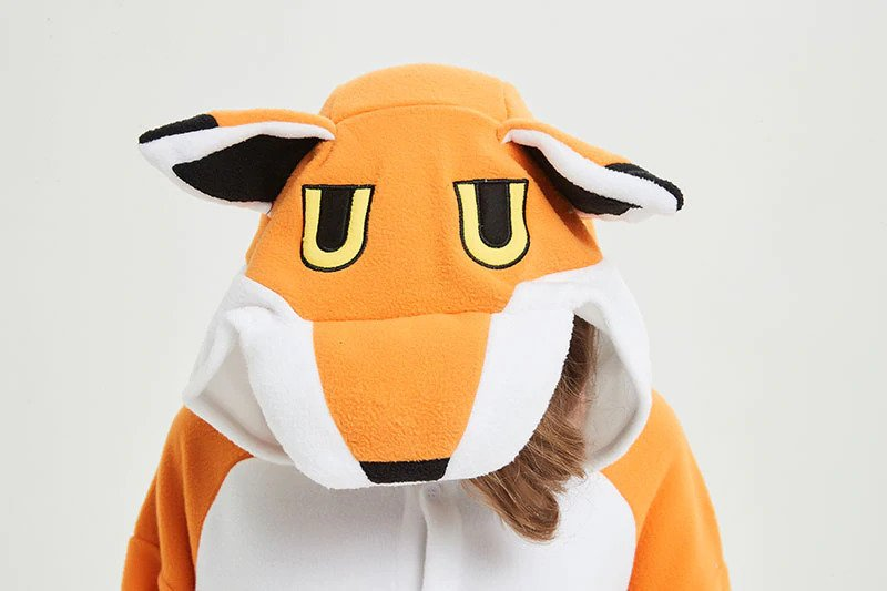 Adult Animal Onesie <br>Fantastic Mr. Fox
