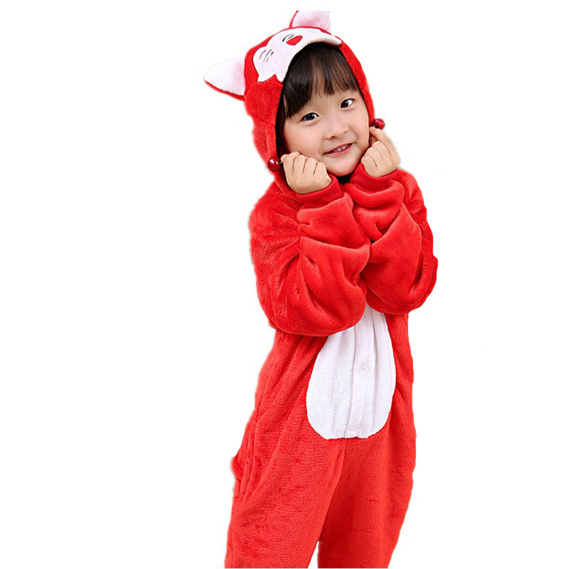 Kids Animal Onesie <br>Cute Red Fox (Boys)