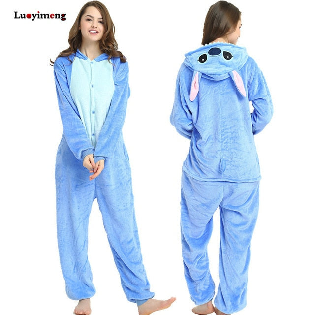 Adult Disney Onesie <br>Stitch Pajamas