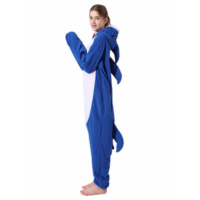 Adult Animal Onesie <br>Blue Shark