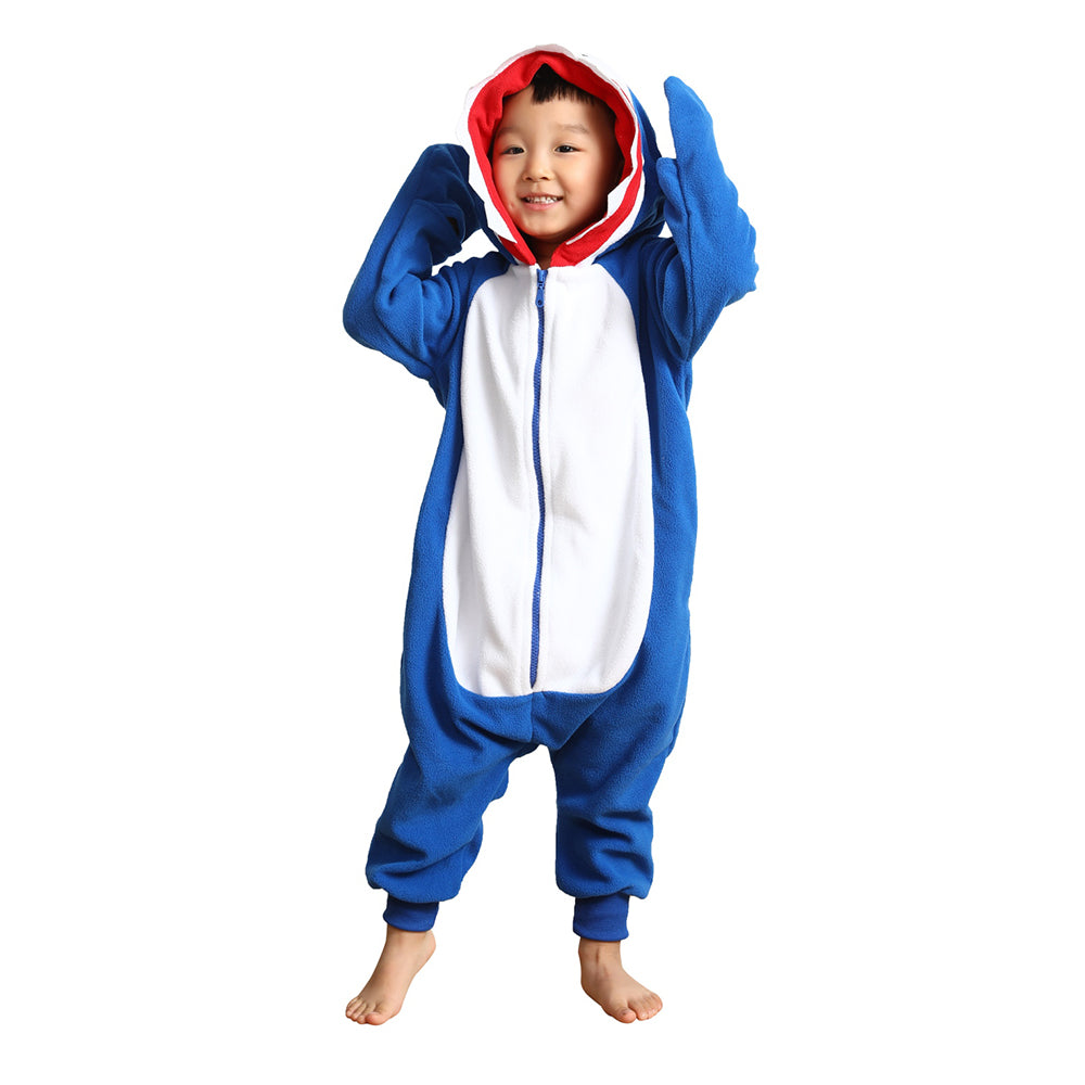 Kids Animal Onesie <br>Blue Shark (Boys)