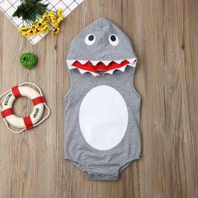 Baby Animal Onesie <br>Shark (Infant)