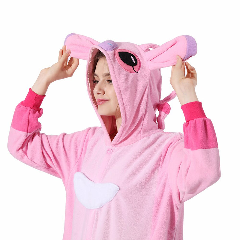 Adult Disney Onesie <br>Pink Stitch