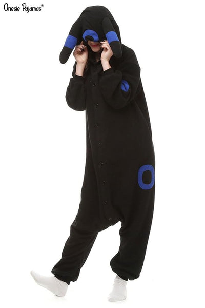 Shiny umbreon onesie