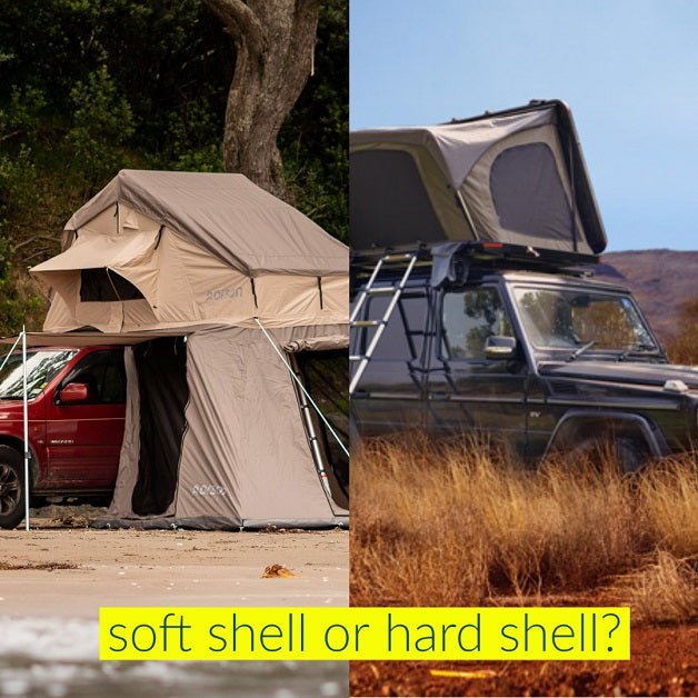 soft shell or hard shell tent orson outdoors