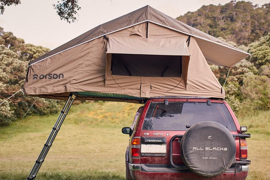 How to choose a roof top tent - AX2 Orson Intents Outdoors