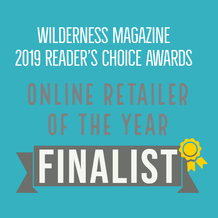 FINALIST - 2019 Online Retailer of the Year, Wilderness Magazine