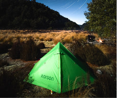 Indie 2 ultralight tent - Orson Outdoors - Intents Outdoors