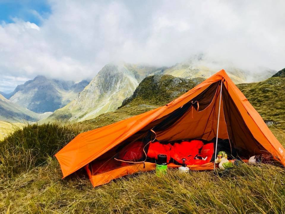Ultralight 1 Man Hiking Tent, Double Wall, 900g - ULTRAPACK-DW