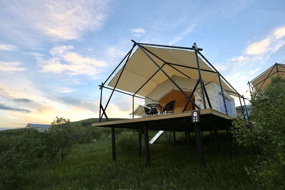 5X7M  THE BASE - LUXURY GLAMPING SAFARI TENT