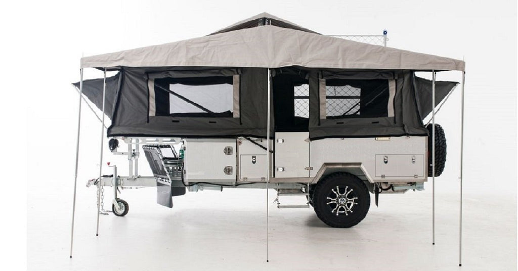 Orson Off Road Camper Trailer - Forward Fold – Intents Outdoors