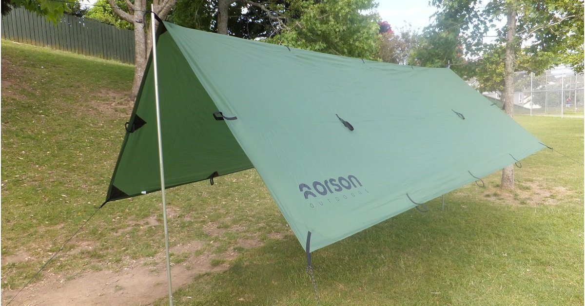 SHADOW 3x4m Waterproof Tarp, 23 tie outs