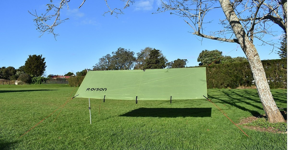 Intents Outdoors Shadow 2x3 Camping Tarp