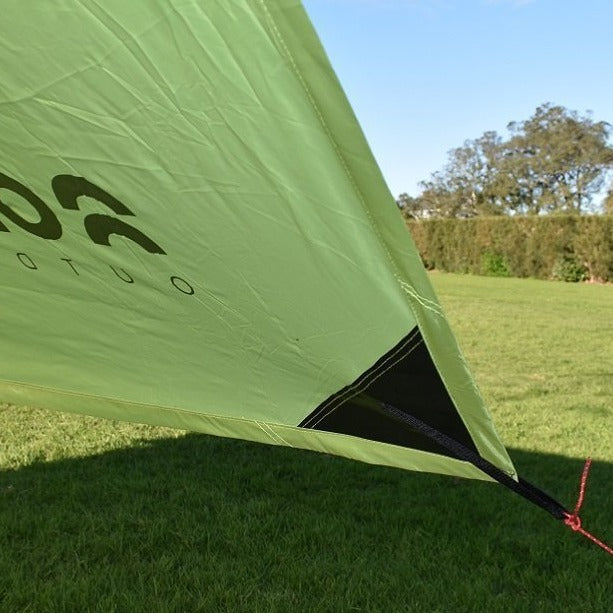 Intents Outdoors Shadow 2x3 Camping Tarp PVC reinforced