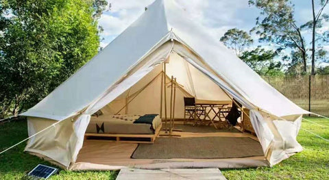 4m Glamping Bell Tent, 285gsm or 350gsm Canvas