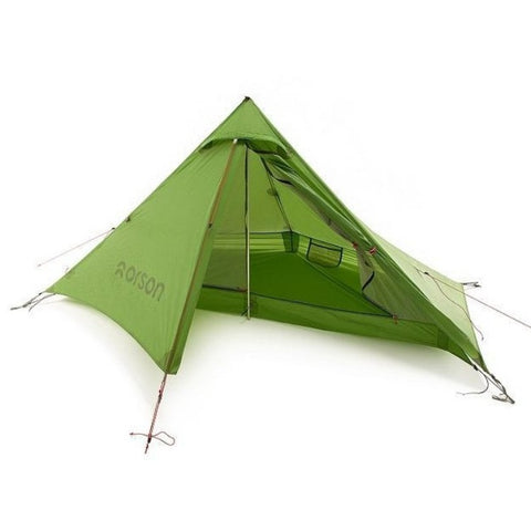INDIE 1 - ULTRALIGHT SILNYLON 1 Person Hiking Tent, 990g