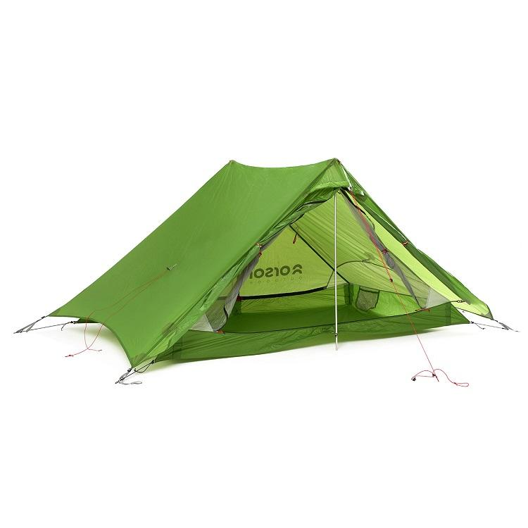 ULTRALIGHT SILNYLON 2 Man Hiking Tent 1.3kg - INDIE 2