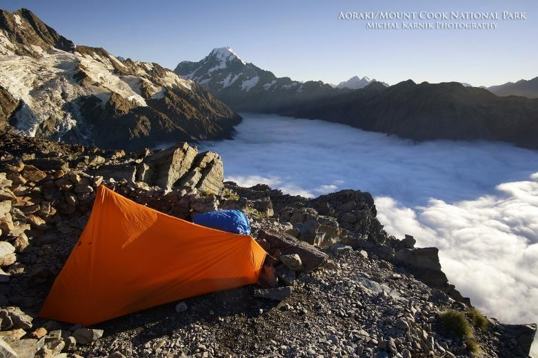 Ultralight 1 Man Hiking Tent, Single Wall, 630-710g - ULTRAPACK-SW
