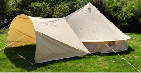 3x4m Arch Awning for Canvas Bell Glamping Tents