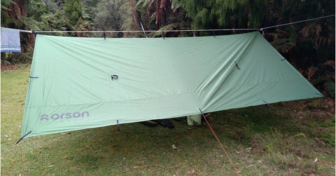 Shadow 4x4m Tarp, 1.5kg, Waterproof, Durable
