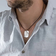 Load image into Gallery viewer, Dog Tag Necklace for Men 2