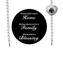 Load image into Gallery viewer, Projection Family Necklace