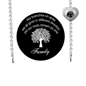 Projection Family Necklace