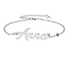 Load image into Gallery viewer, Personalized Name Necklace Custom Inscribed Pendant Jewelry 925 Sterling Silver with Any Name
