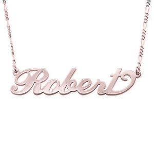 Carrie Name Necklace for Men